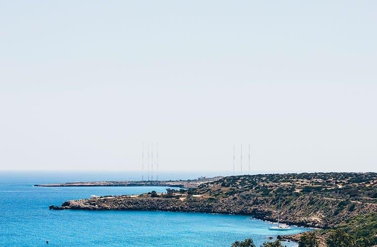Kap Gkreko: Aussicht beim Grecian Park Hotel, Zypern