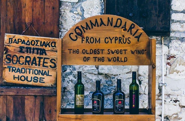 Das Weinbauerndorf Omodos, Zypern