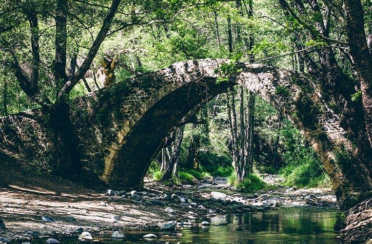 Tzelefos Bridge, Zypern