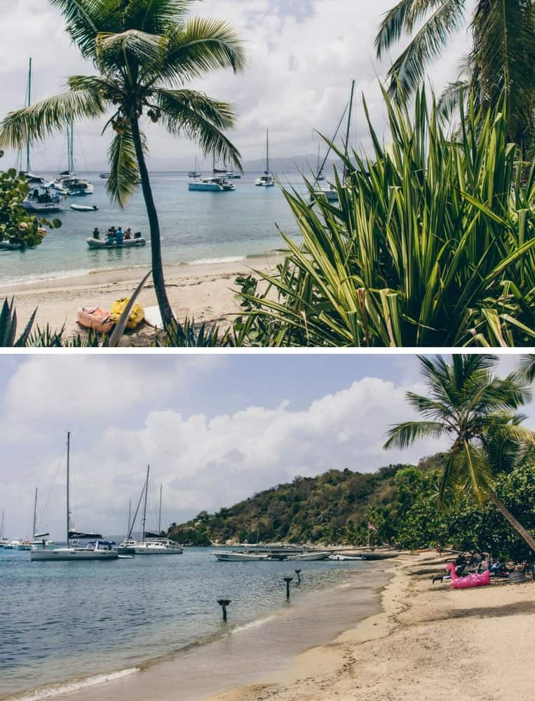 Der Cooper Island Beach Club, British Virgin Islands