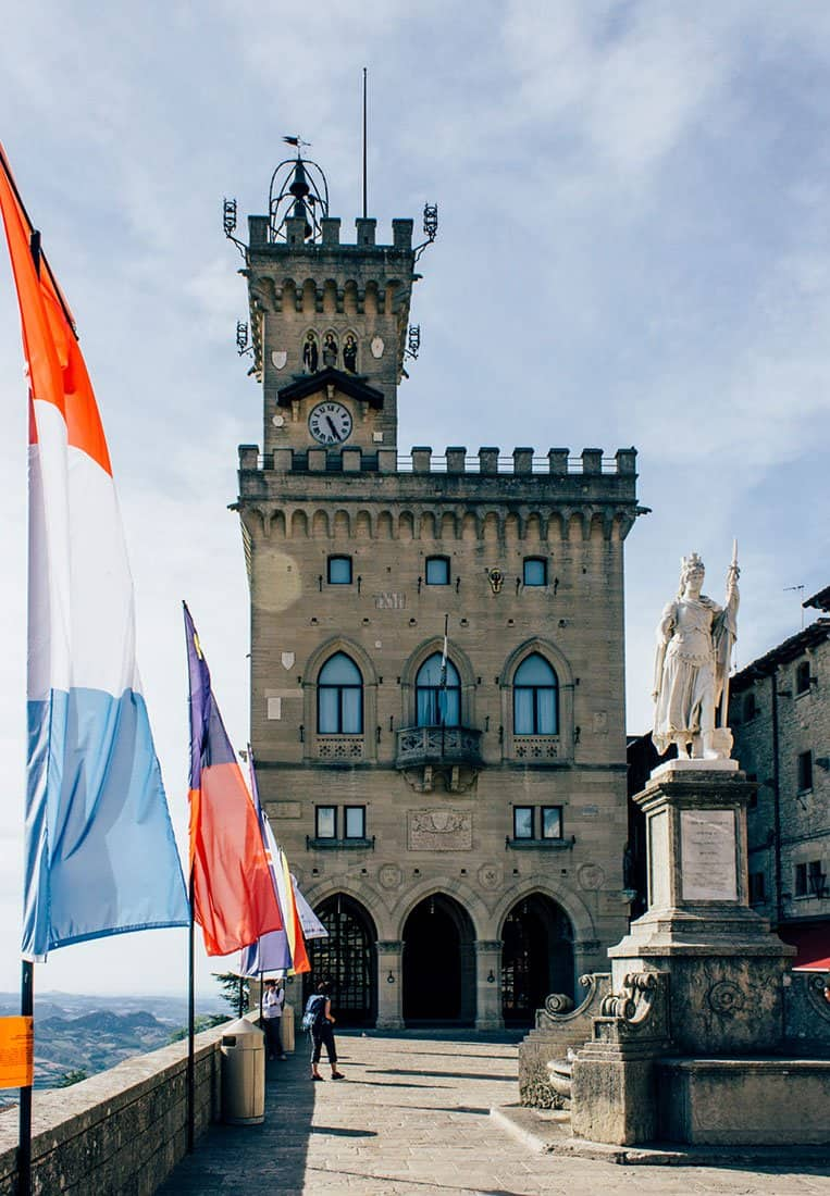 Piazza della Libertà, San Marino