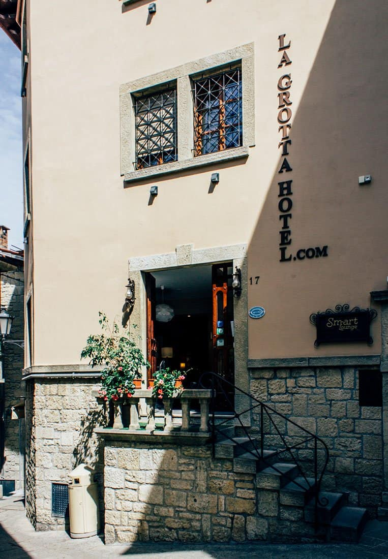 Hotel La Grotta, San Marino