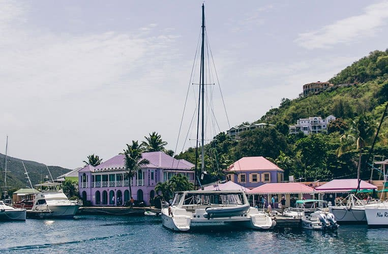 Soper's Hole Marina, British Virgin Islands