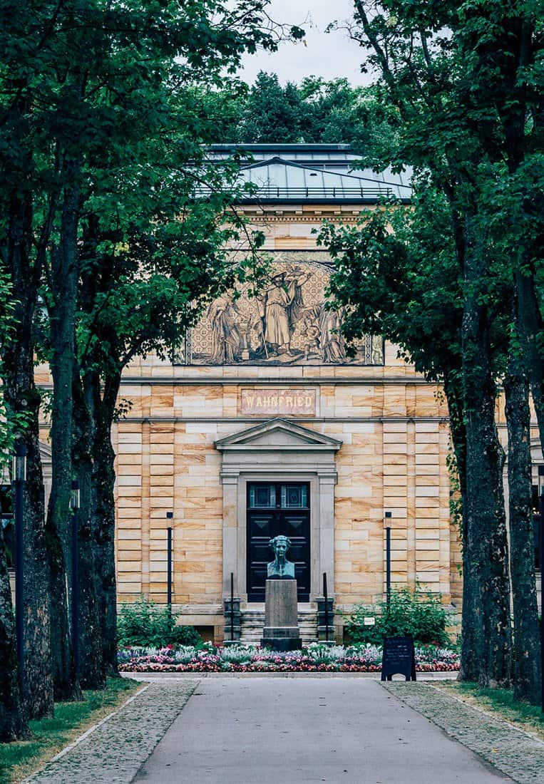 Das Richard Wagner Museum in Bayreuth