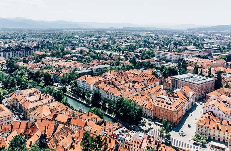 Die Burg von Ljubljana