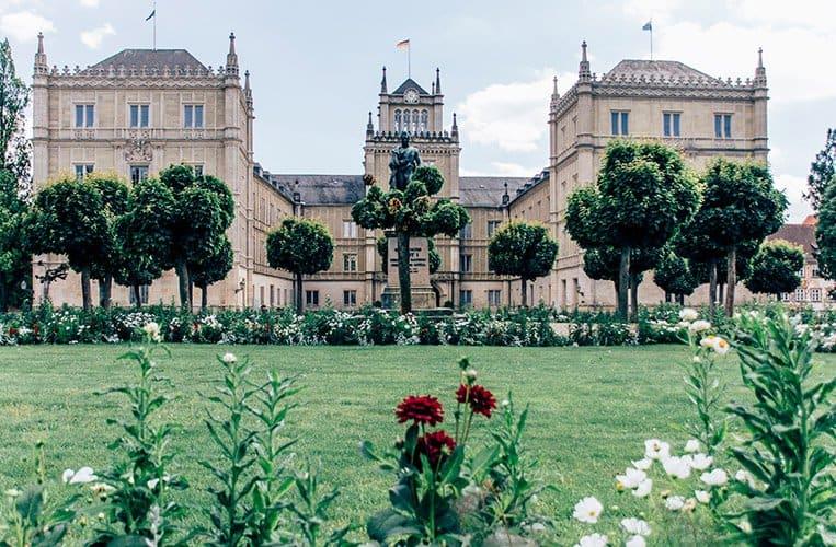 Das Schloss Ehrenburg, Coburg