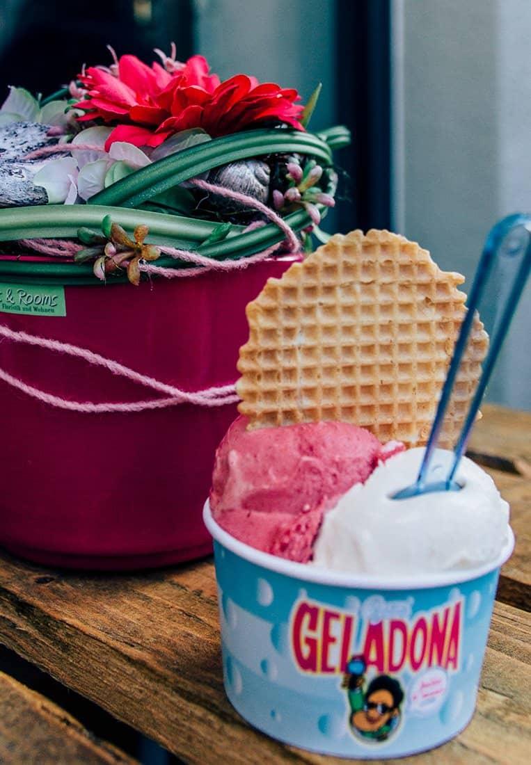 San Geladona Eis-Shop, Coburg
