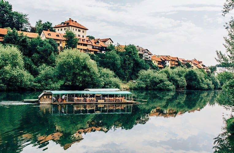Novo mesto, Slowenien