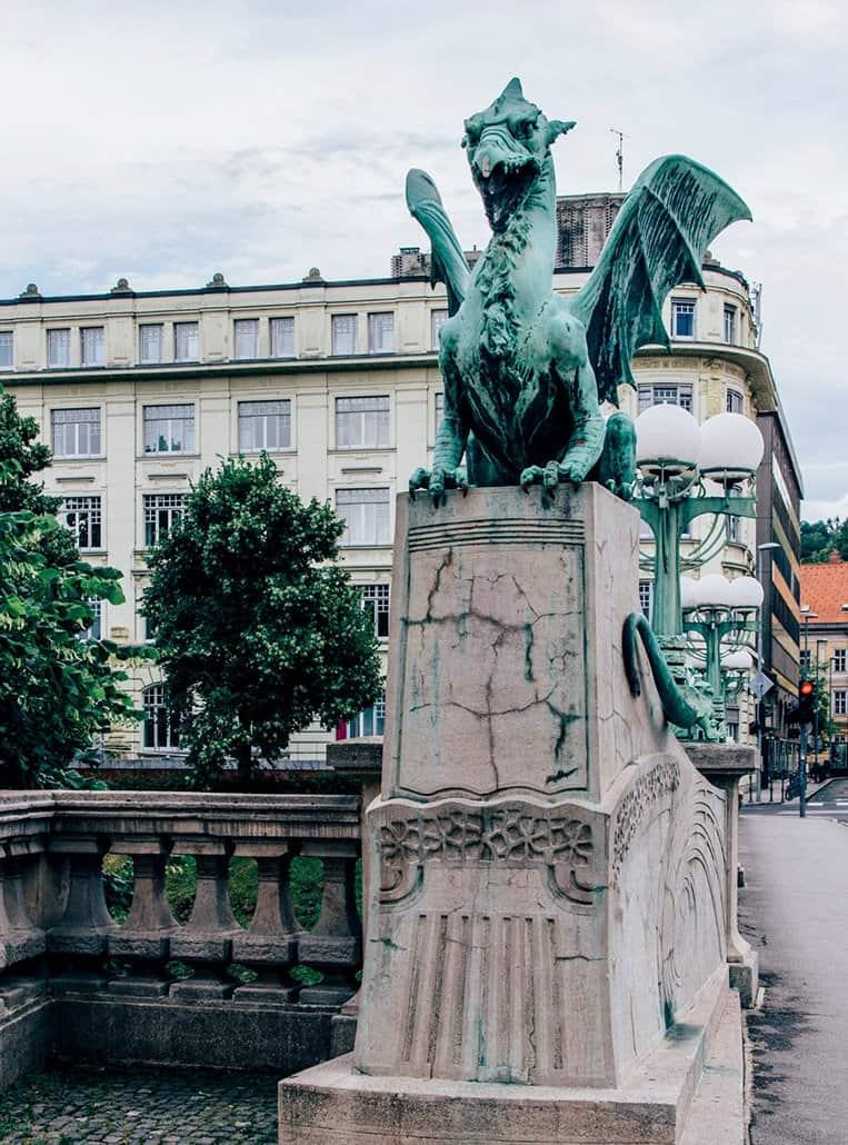 Der Drache von Ljubljana