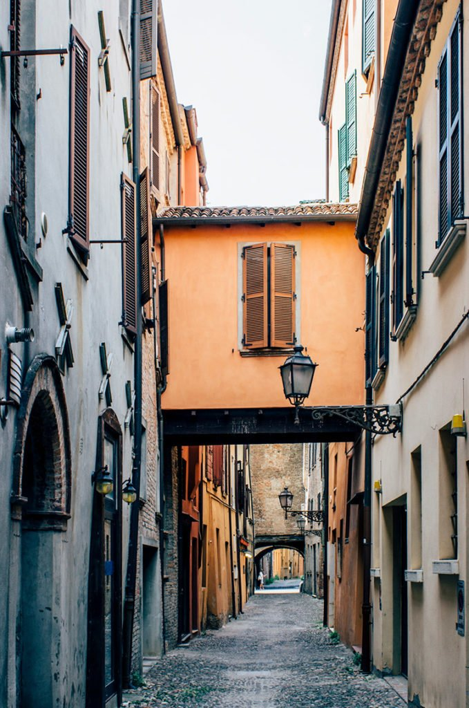 Via delle Volte in Ferrara