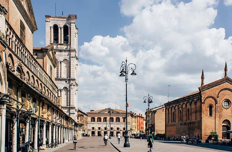 Die Kathedrale von Ferrara