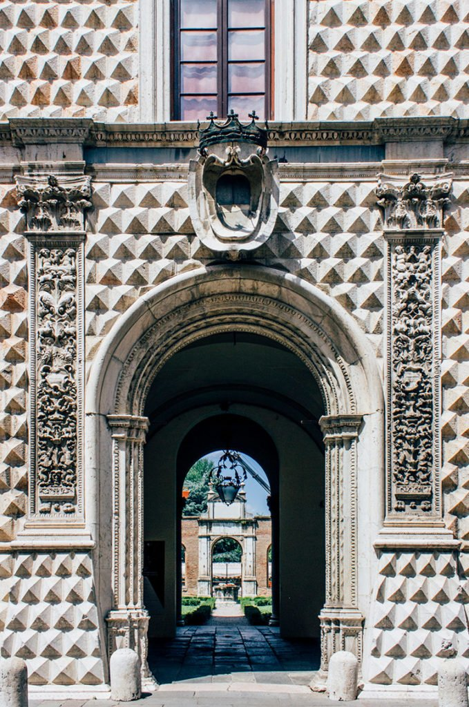 Der Palazzo dei Diamanti in Ferrara