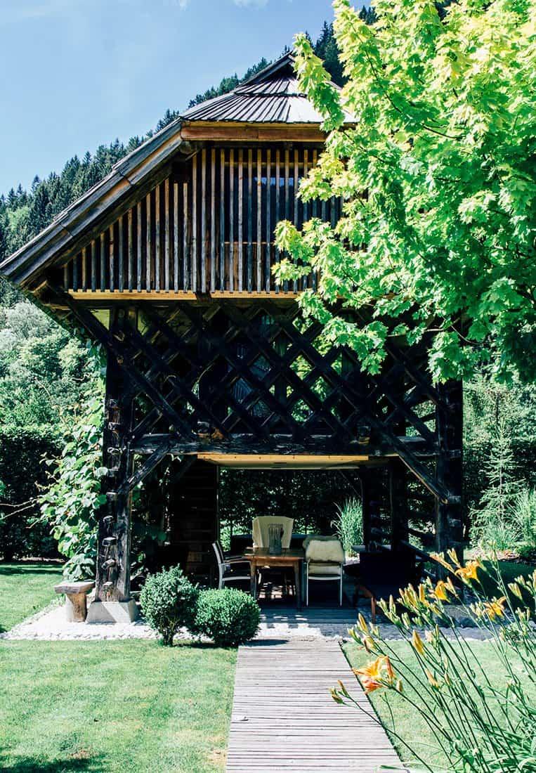 Hiša Raduha in Luče