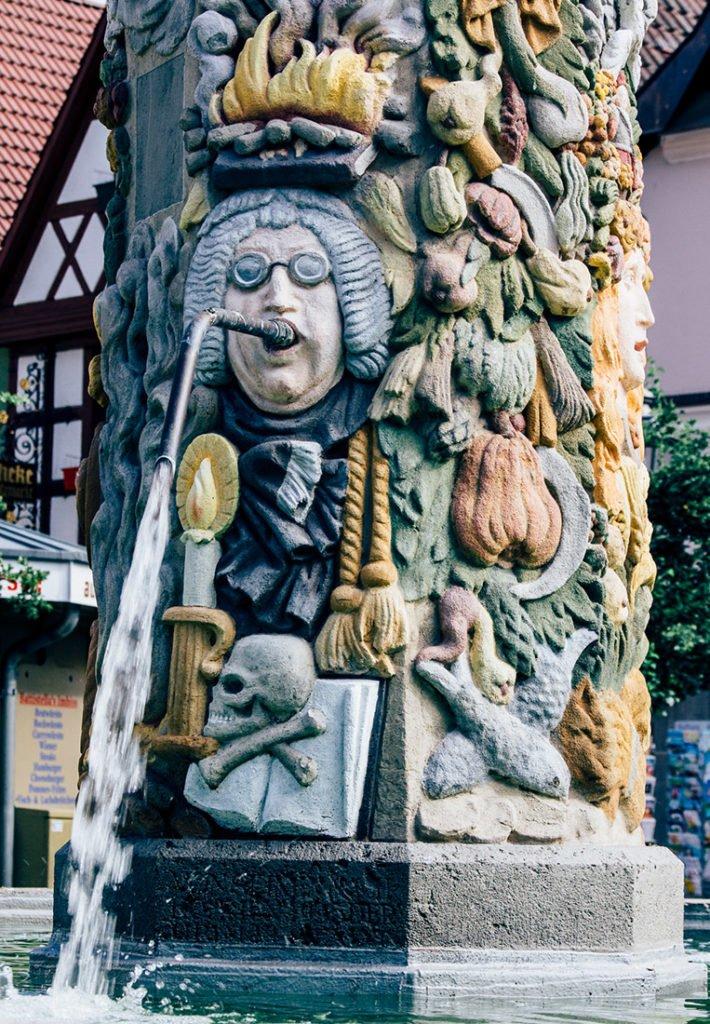 Der Zinsfelderbrunnen in Kulmbach