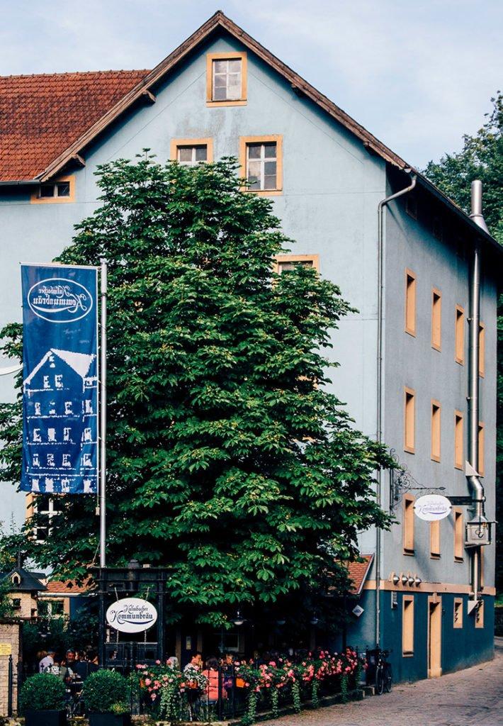 Das Brauerei-Wirtshaus Kommunbräu in Kulmbach