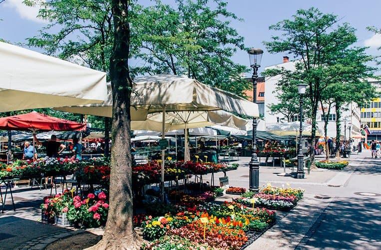Der Marktplatz – Tržnica