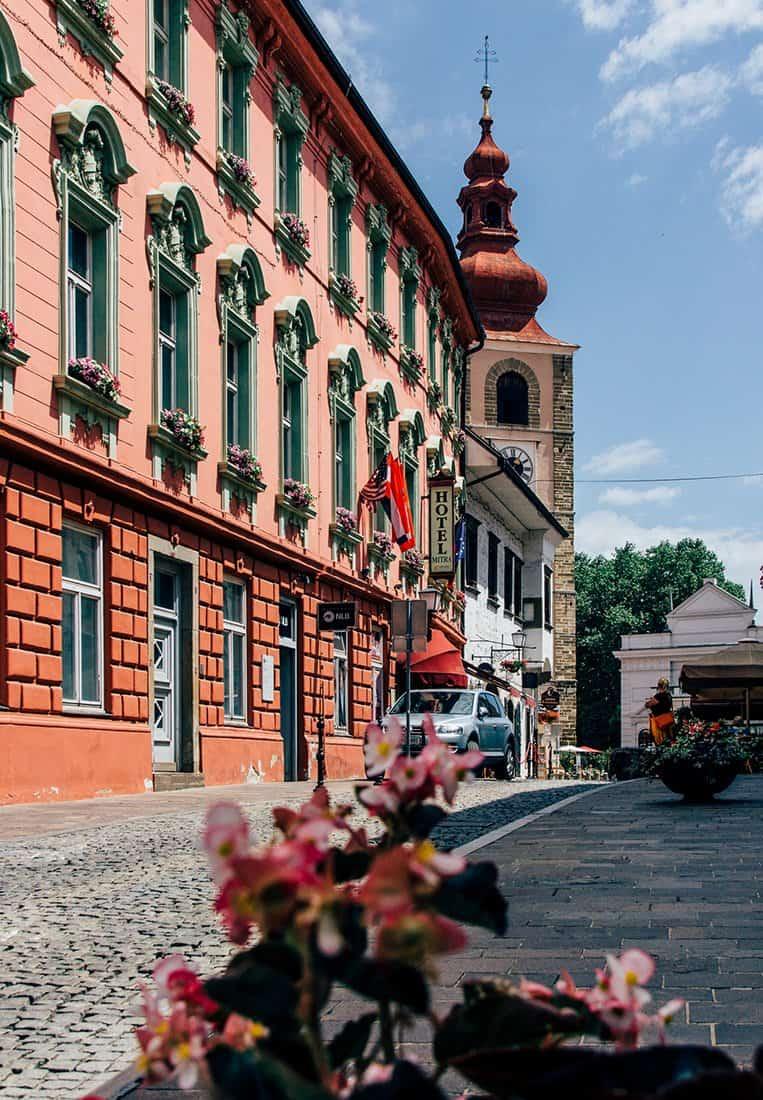 Das Hotel Mitra, Ptuj