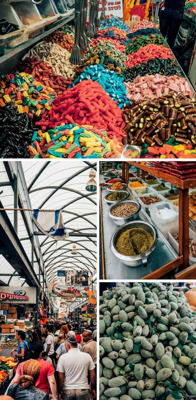 Der Markt in Ramla, Israel