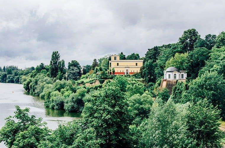 Der Schlossgarten in Aschaffenburg