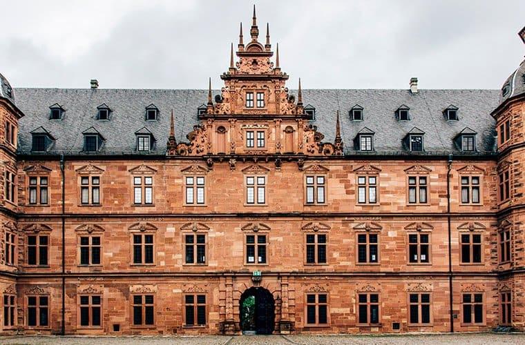Das Schloss Johannisburg in Aschaffenburg