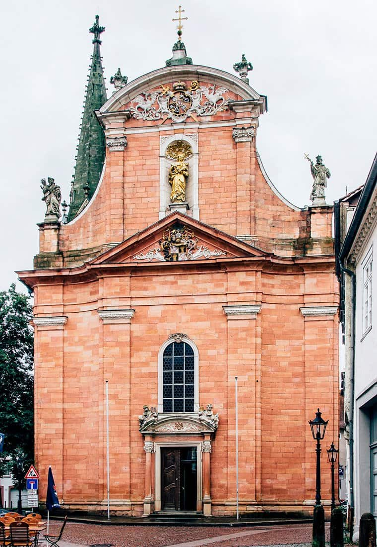 Die Altstadt von Aschaffenburg