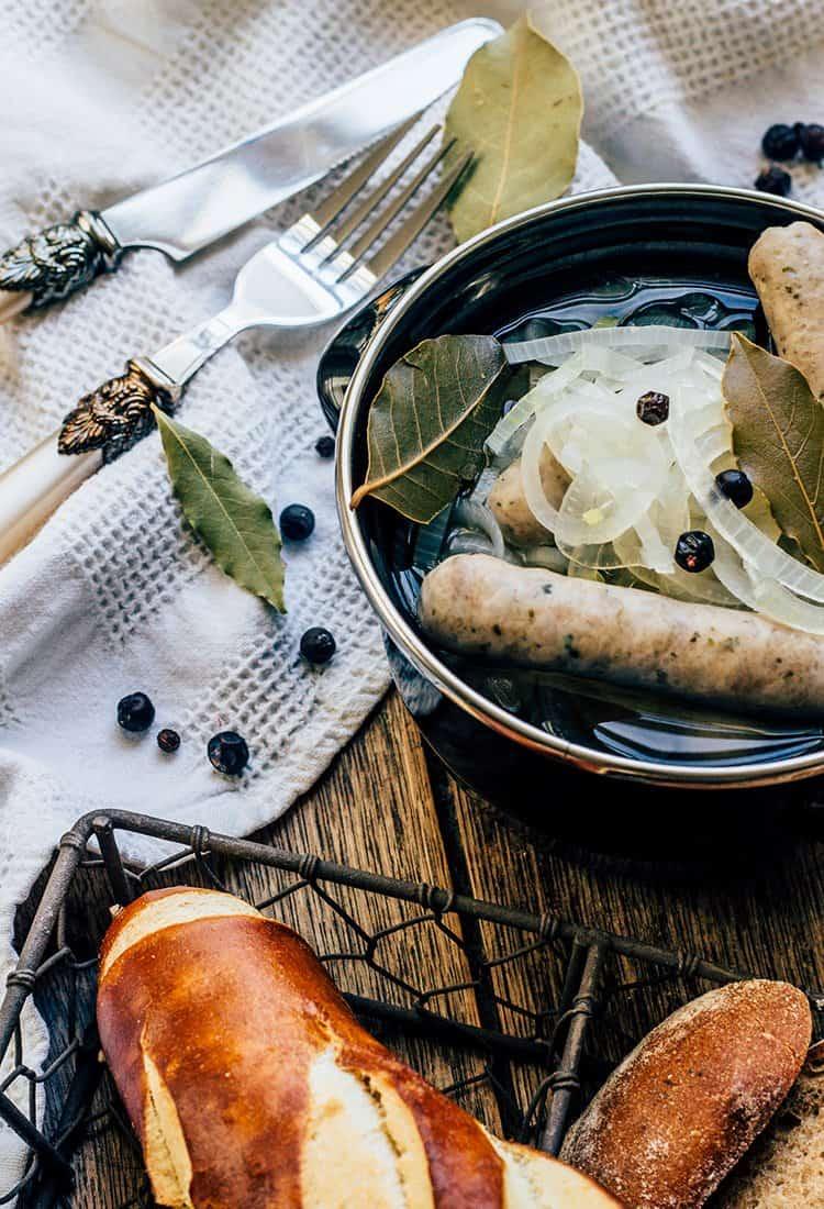 Rezept für Blaugesottene aus Kulmbach