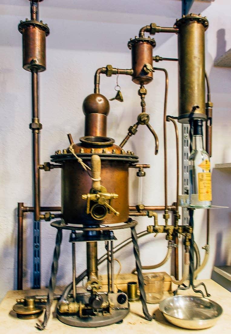 Die Edelbranntwein-Brennerei Gustav Mayer