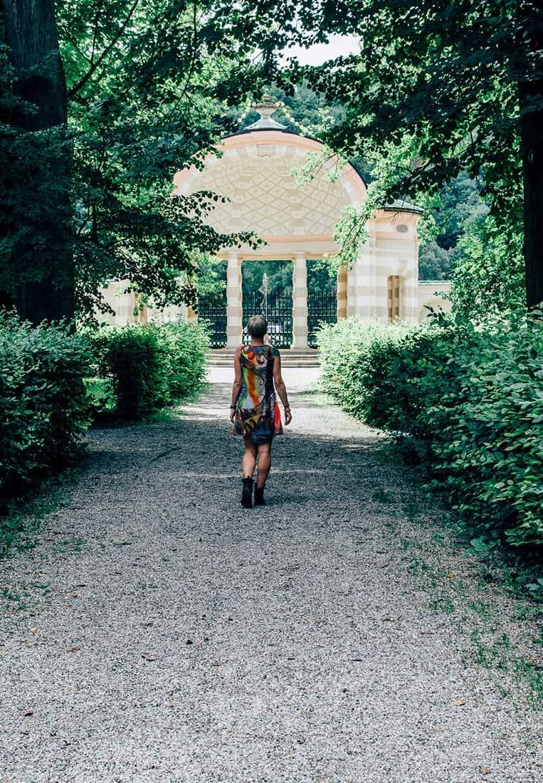 Der Hofgarten der Eichstätter Sommerresidenz