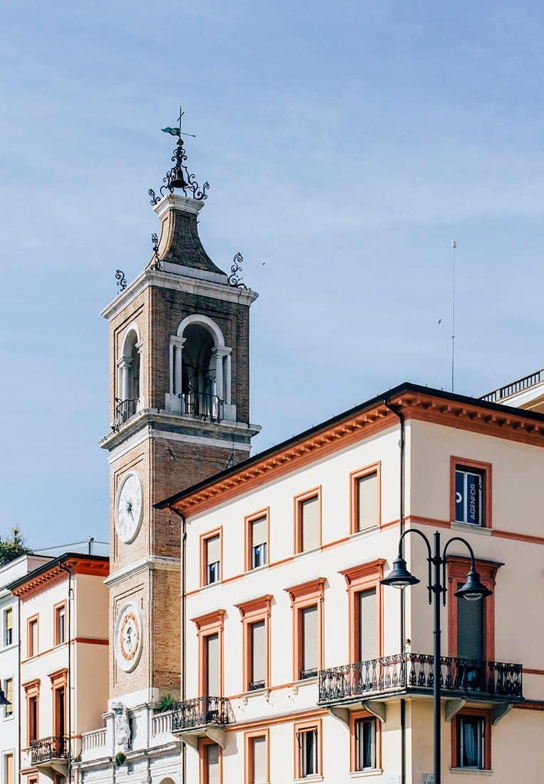 Die Altstadt von Rimini