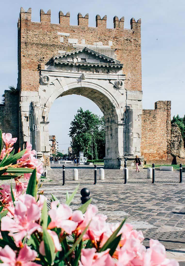 Der Augustusbogen in Rimini