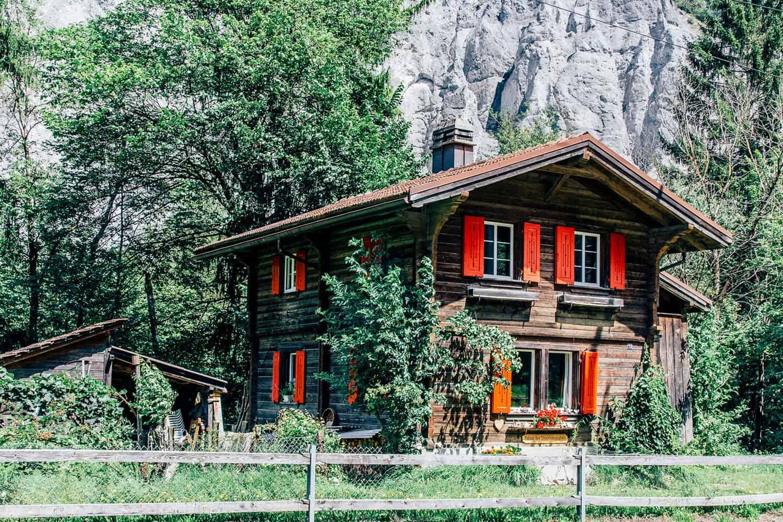 Von Flims Waldhaus nach Versam-Safien