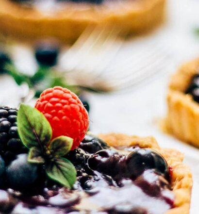 Blueberry Pie Rezept aus Nova Scotia
