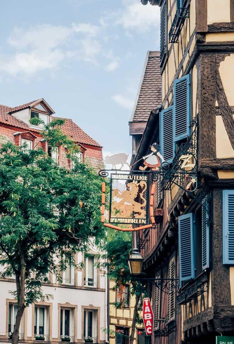 Märchenhaftes Fachwerk in Colmar