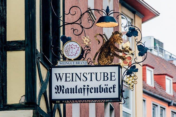 """Die Weinstube """"Maulaffenbäck"""""""