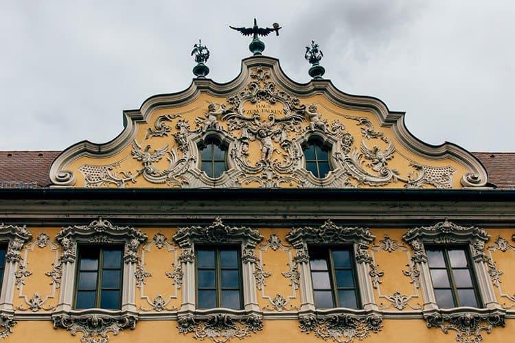 Das Falkenhaus in Würzburg