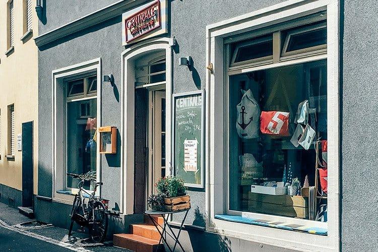 Das Café Centrale in Würzburg