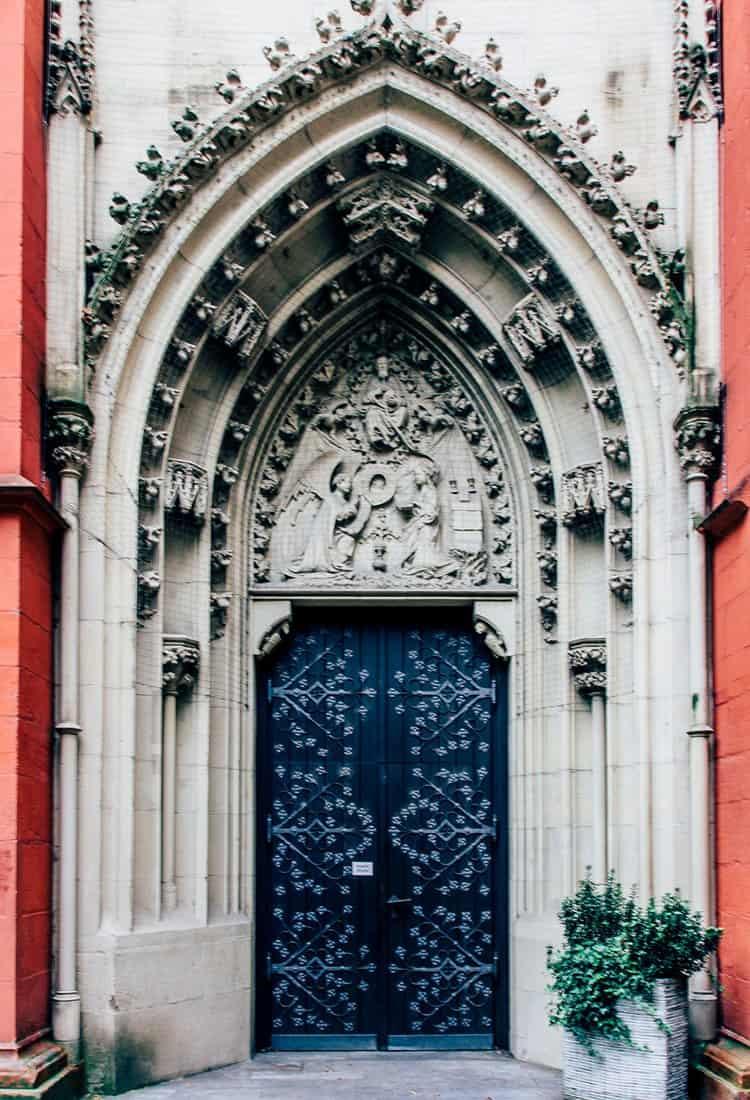 Die gotische Marienkapelle in Würzburg