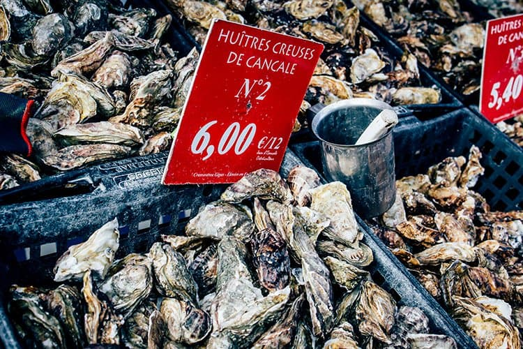 Cancale – der Austernmarkt