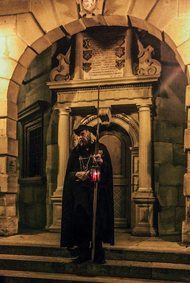 Nachtwächterführung in Rothenburg