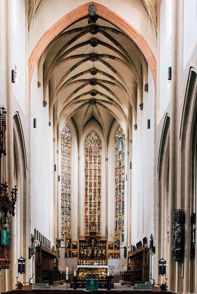 Die Stadtpfarrkirche St. Jakob