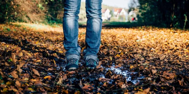 Never feelin' blue – Eine Herbstwanderung zum Alten Kanal