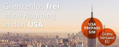 Grenzenlos frei – mit Tourisim roamingfrei durch die USA und Kanada reisen