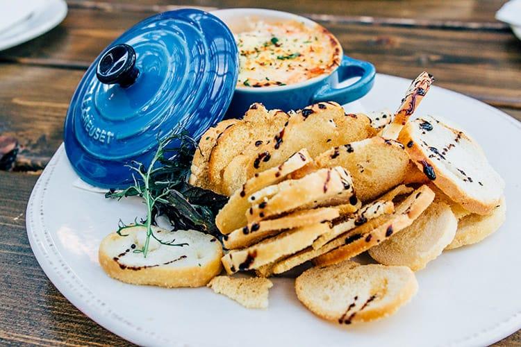 Das Blue Mussel Café in North Rustico