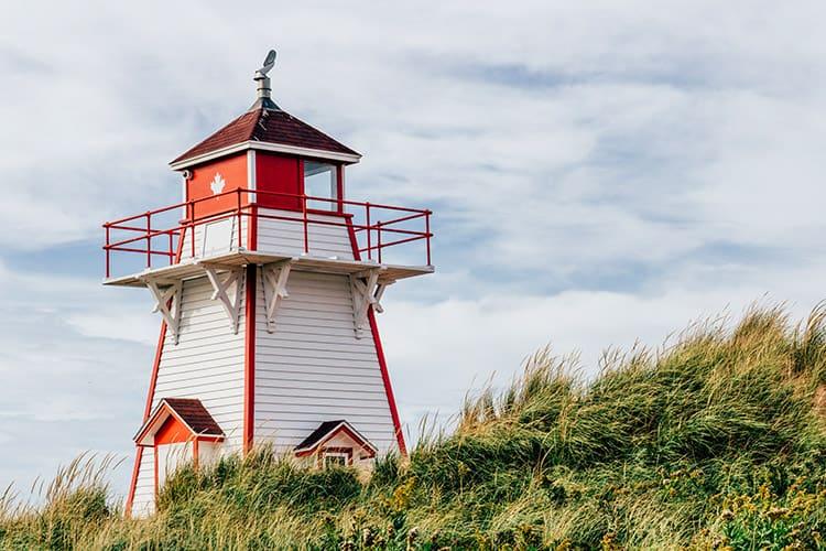 Das Covehead Lighthouse