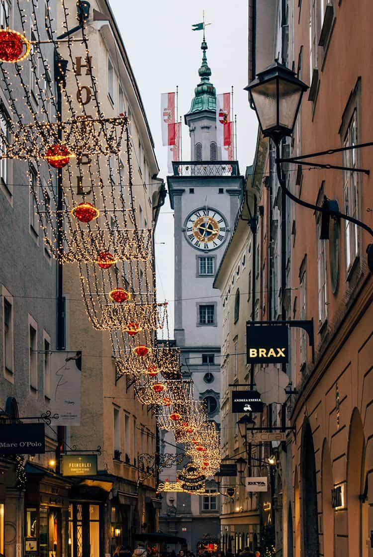 Die Salzburger Altstadt