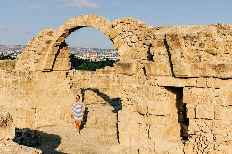 der Archäologische Park Kato Pafos
