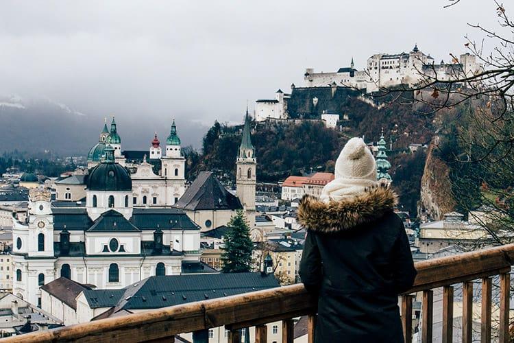 Ausblick vom Mönchsberg