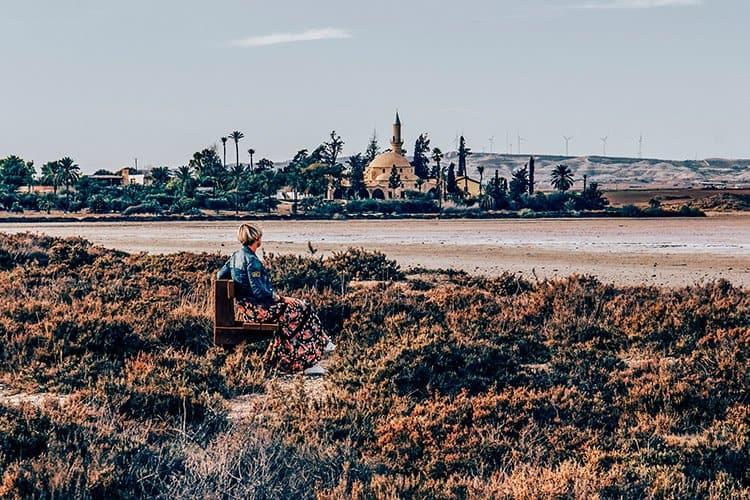 Der Salzsee in Larnaka
