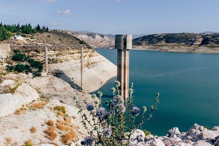 Asprokremnos Staudamm