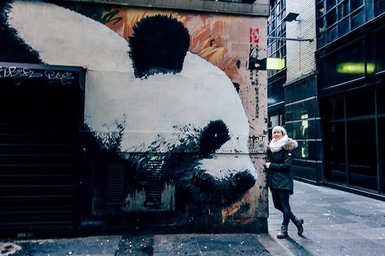 """""""Glasgow Panda"""" von Klingatron"""